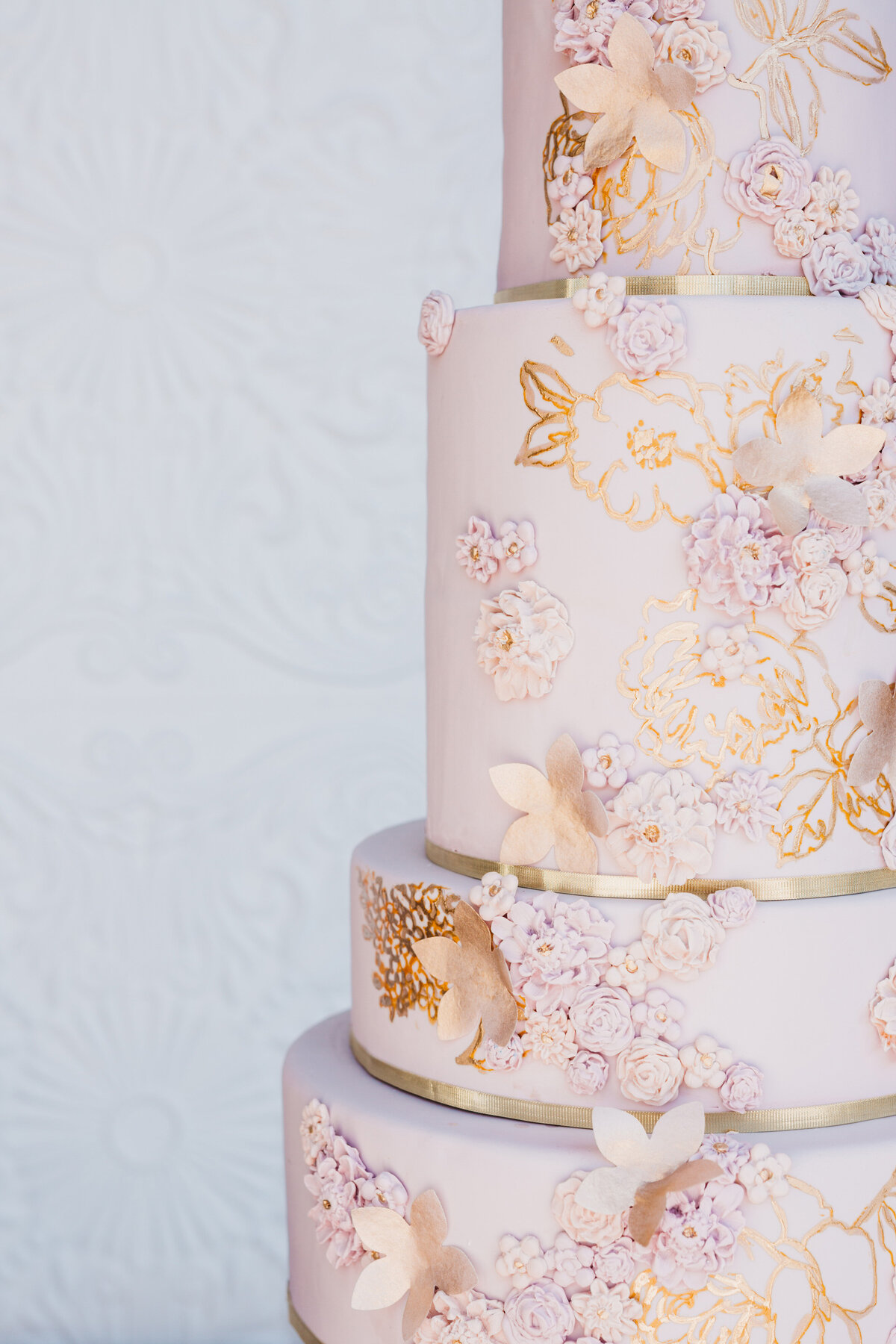 mauve-gold-cream-wedding-cake-(12)
