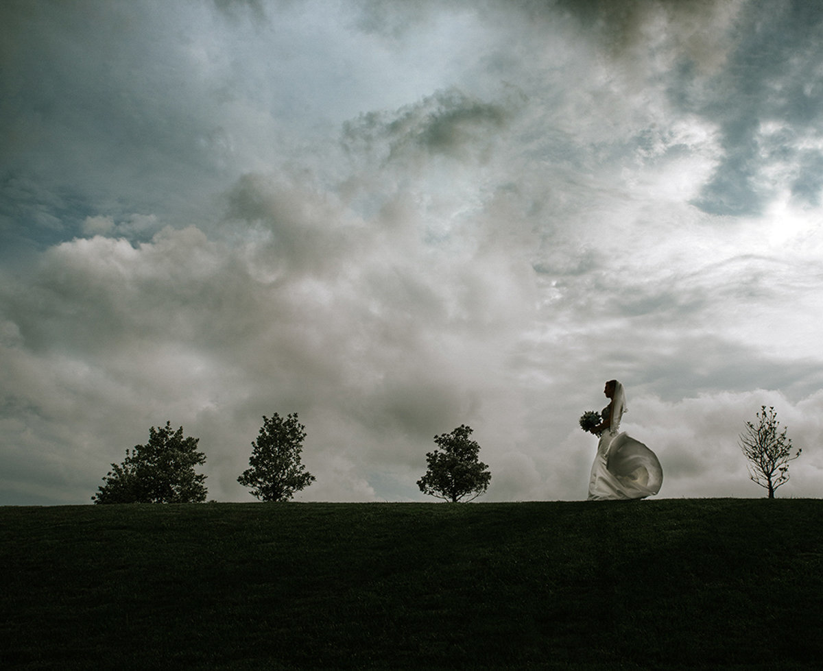 creative natural nj wedding photography silhouette dramatic fine art
