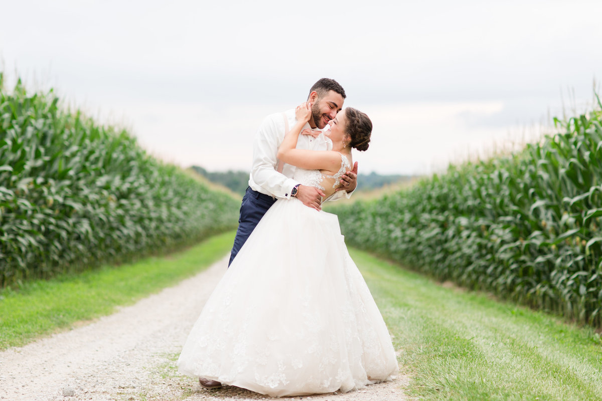 Summer Ohio Farm Wedding Orrville