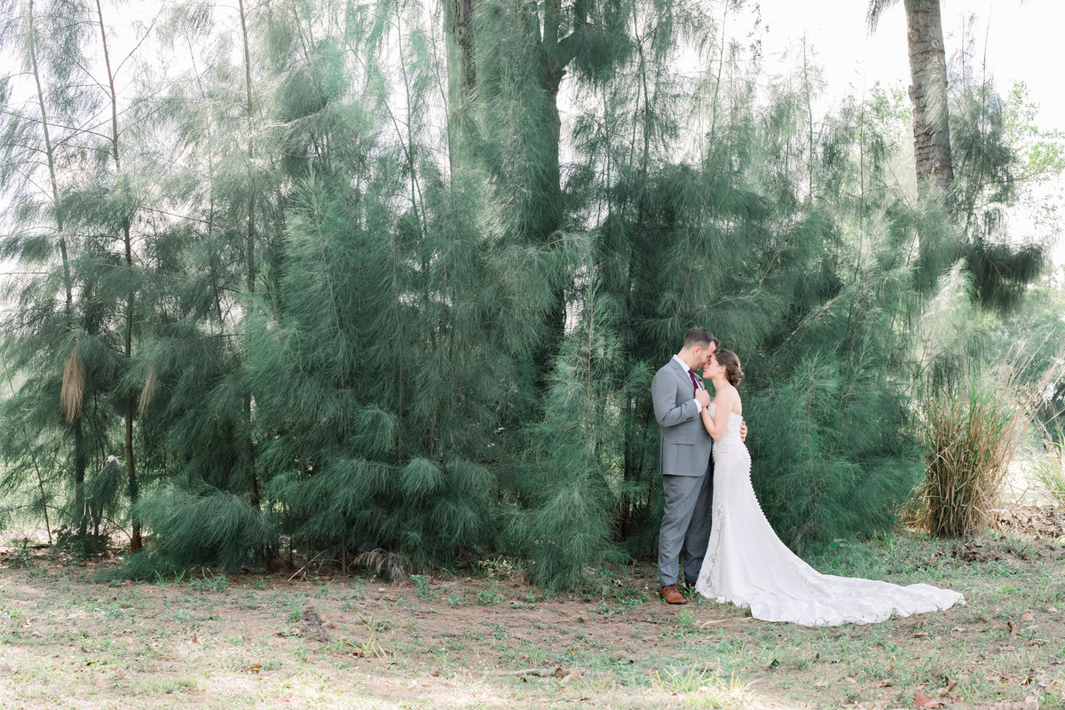 First Look Outdoor Wedding Photography - Florida