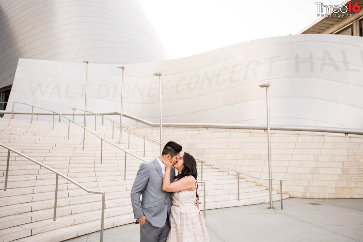 Walt Disney Concert Hall Engagement Photos Los Angeles County