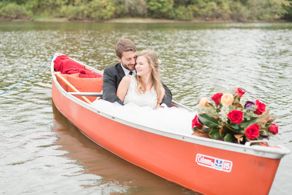 Canoe Adventure Wedding-11