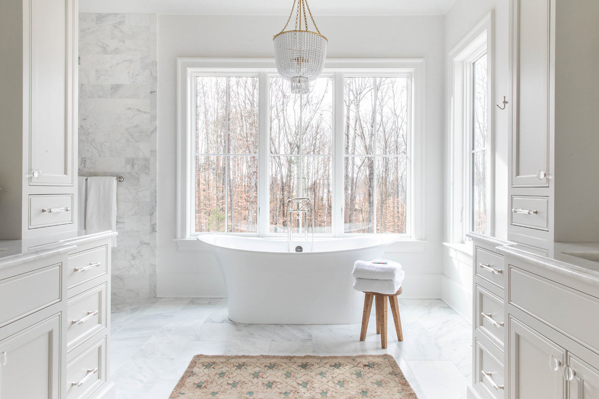 White-Carrara-Marble-Master-Bathroom-with-Soaking-Tub-2
