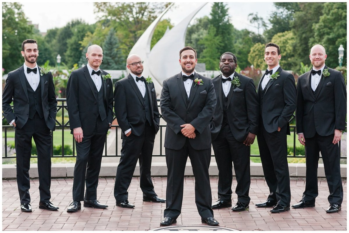 Franklin Park Conservatory Wedding The Palm House Bridal Garden Grove_0020
