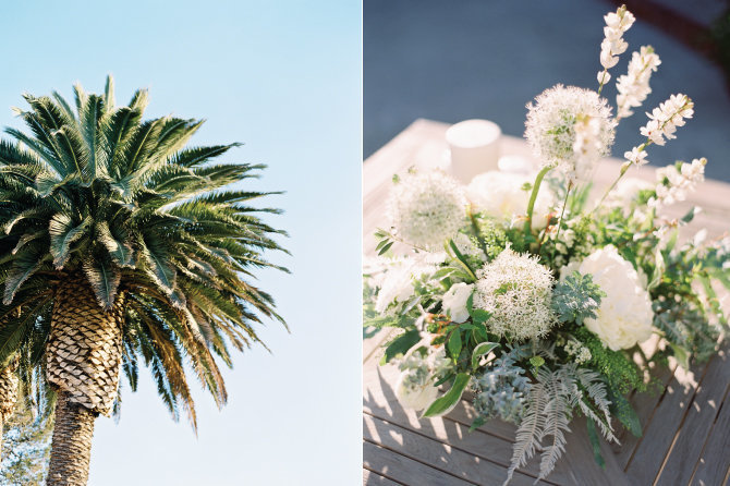 White California Wedding