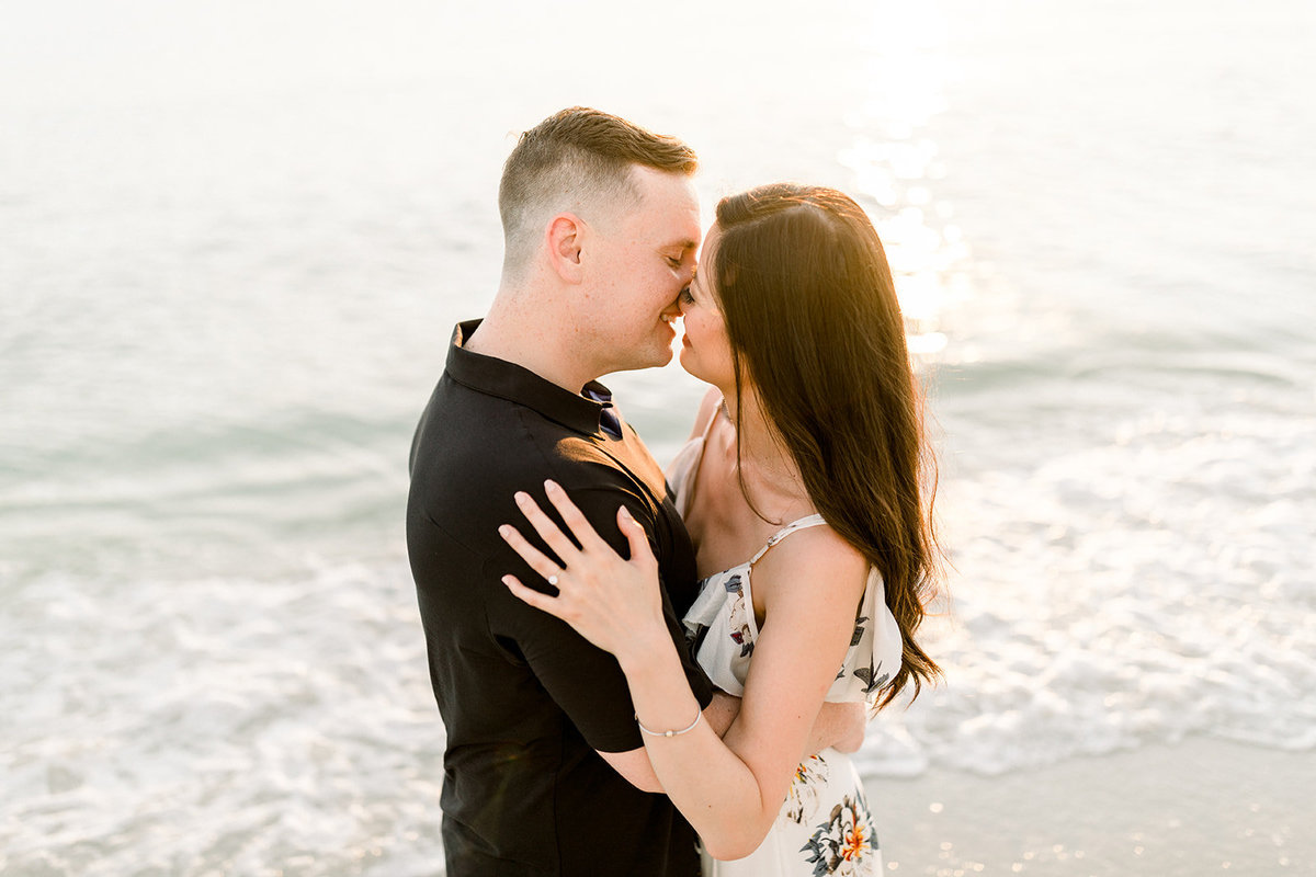 Pelican Bay Club Engagement Photos Naples Wedding Photographer