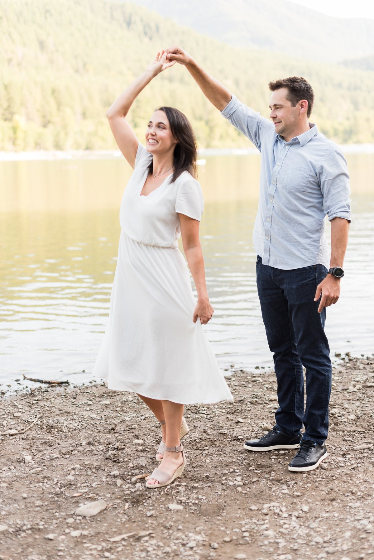 Rattlesnake Lake Engagement Session - 29