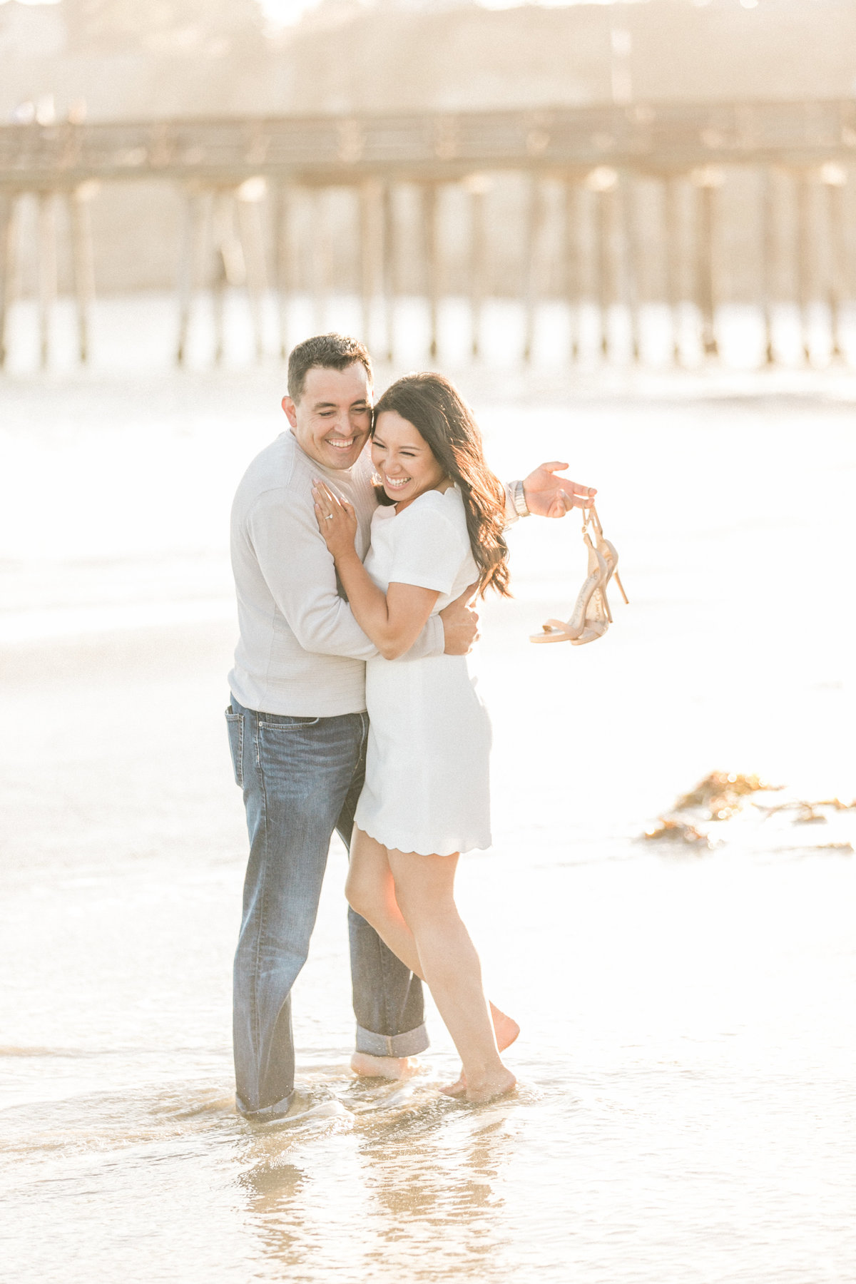 Northern California Beach Engagement Photography
