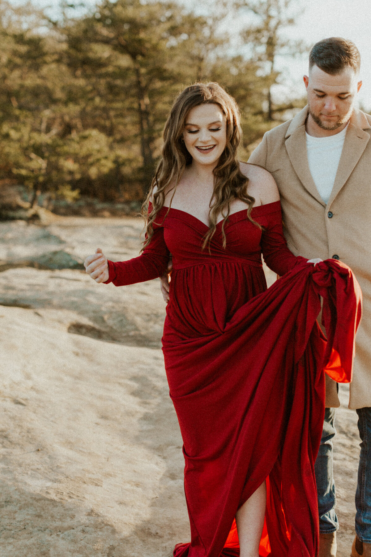 Red-River-Gorge-Kentucky-Adventurous-Couples-Session_Maternity-Photos_Kentucky-Photographer_Anna-Ray-Photography-83