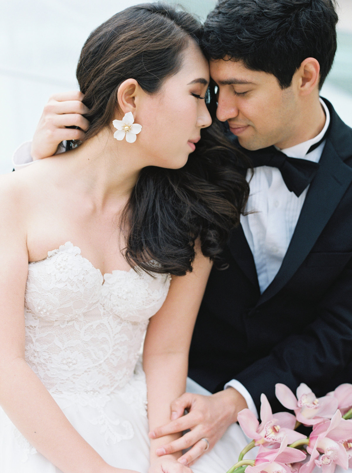 Diana + Pablo San Francisco California Legion of Honor Museum Wedding Session | Cassie Valente Photography 0092
