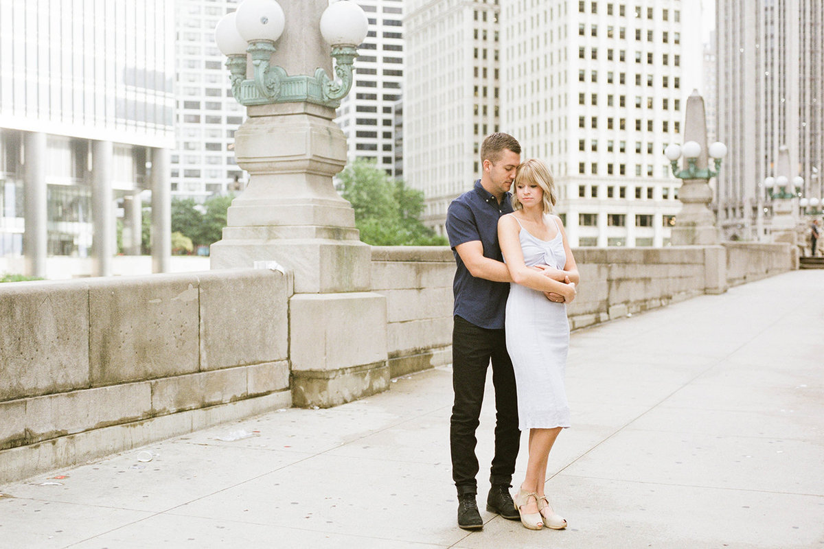 Chicago Wedding Photographer - Fine Art Film Photographer - Sarah Sunstrom - Sam + Morgan - Engagement Session - 4