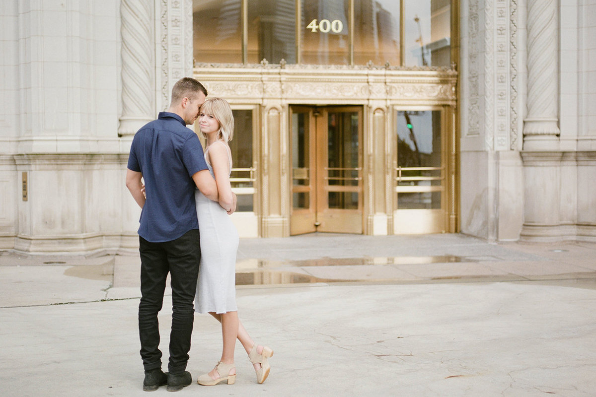 Chicago Wedding Photographer - Fine Art Film Photographer - Sarah Sunstrom - Sam + Morgan - Engagement Session - 27