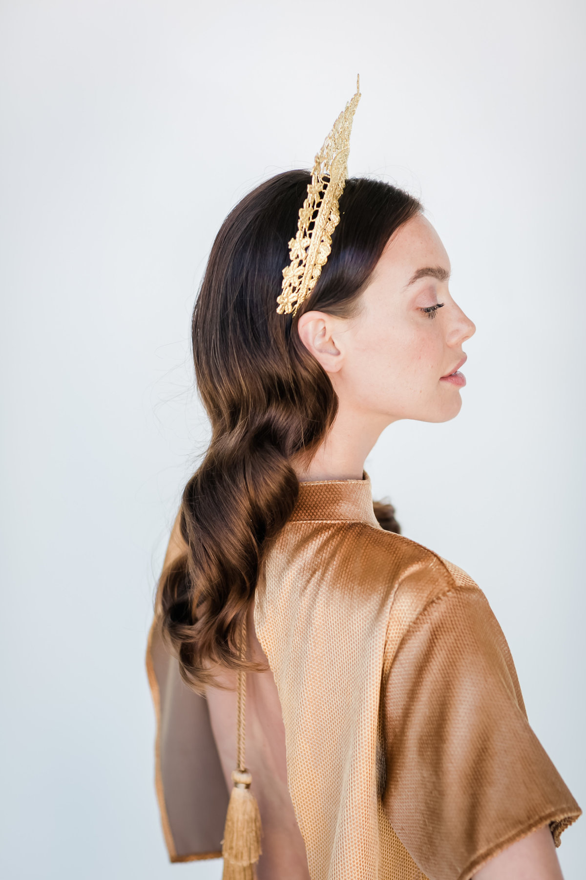Bridal Crown Editorial Shoot Trace Henningsen Accessories_Valorie Darling Photography-7991