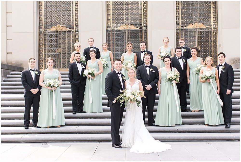 Spring-Scottish-Rite-Cathedral-Neutral-Gold-Ivory-Greenery-Floral-Indianapolis-Wedding-Ivan-Louise-Images-Jessica-Dum-Wedding-Coordination_photo_0011