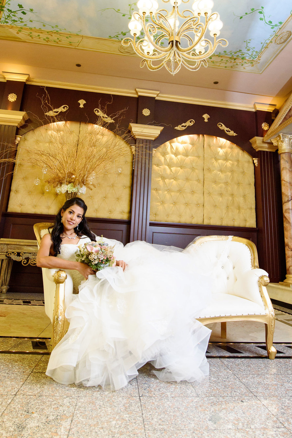 Bride portrait at The Sands
