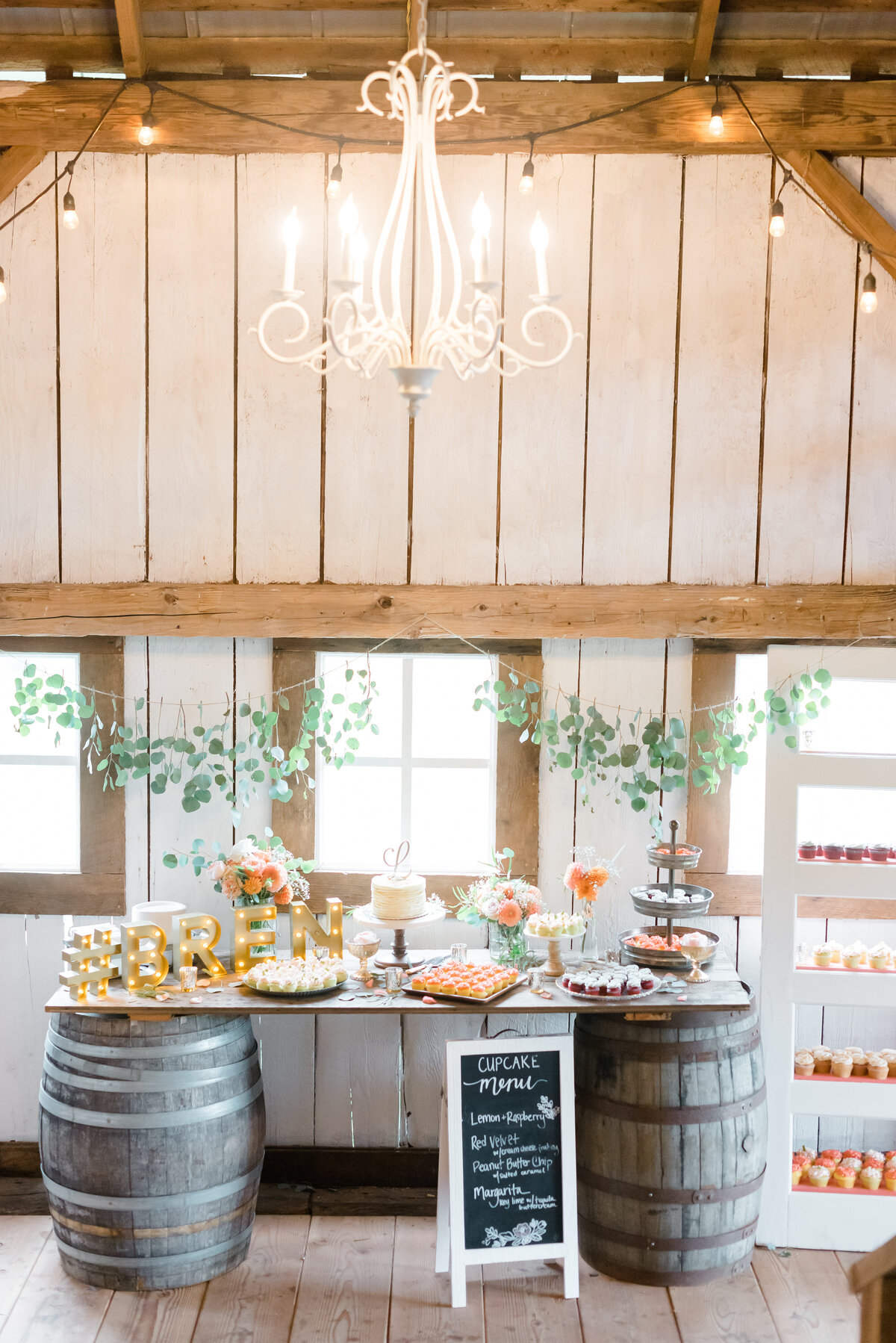 Rustic dessert table, wedding, rustic, Oregon Wedding florist