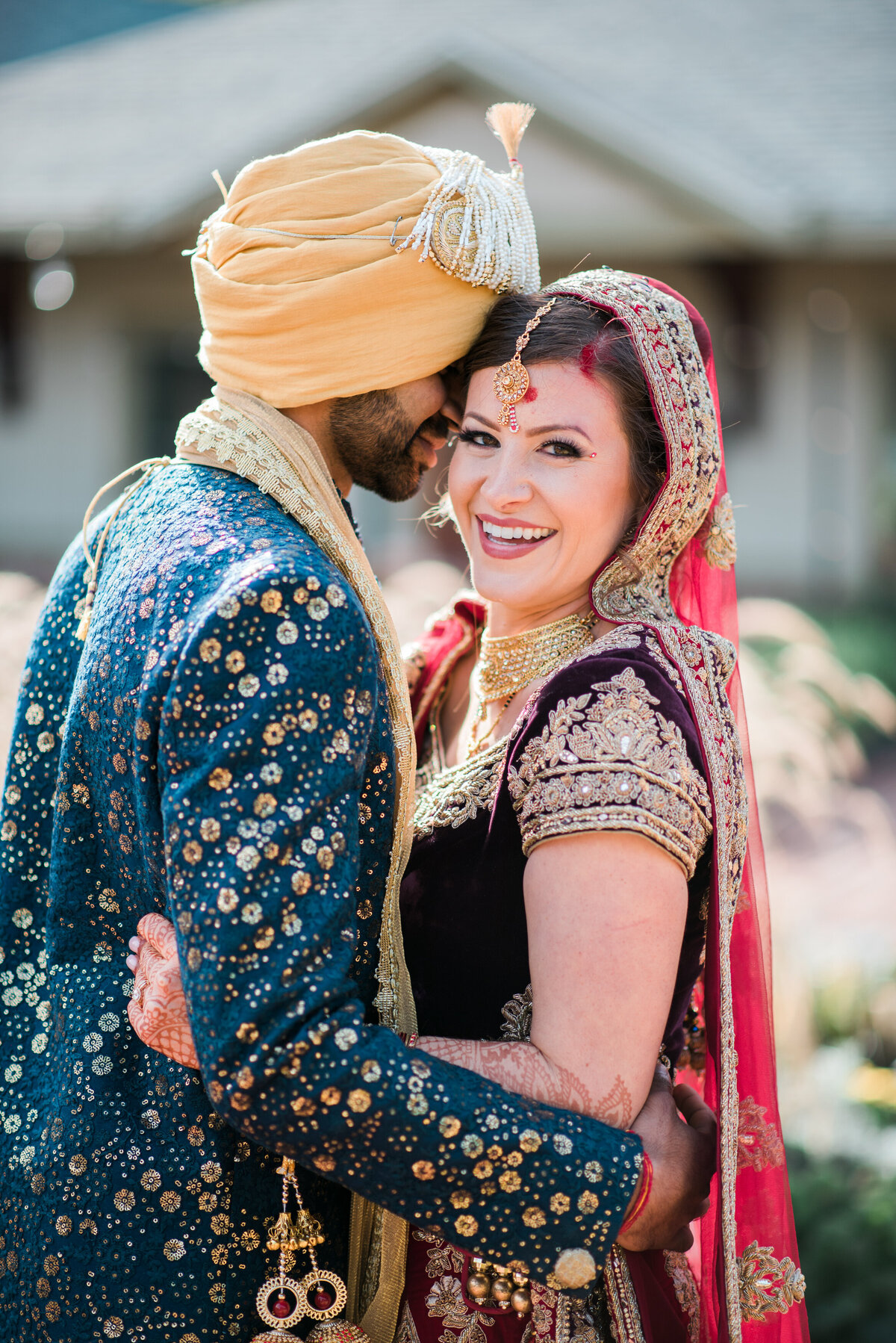 Indian wedding portraits at st Albans Inn