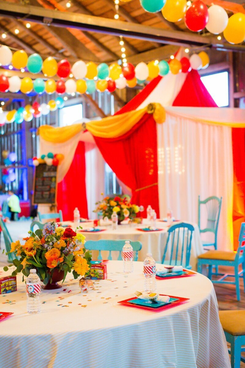 Circus Themed 1st Birthday Indianapolis Party Planner_0040
