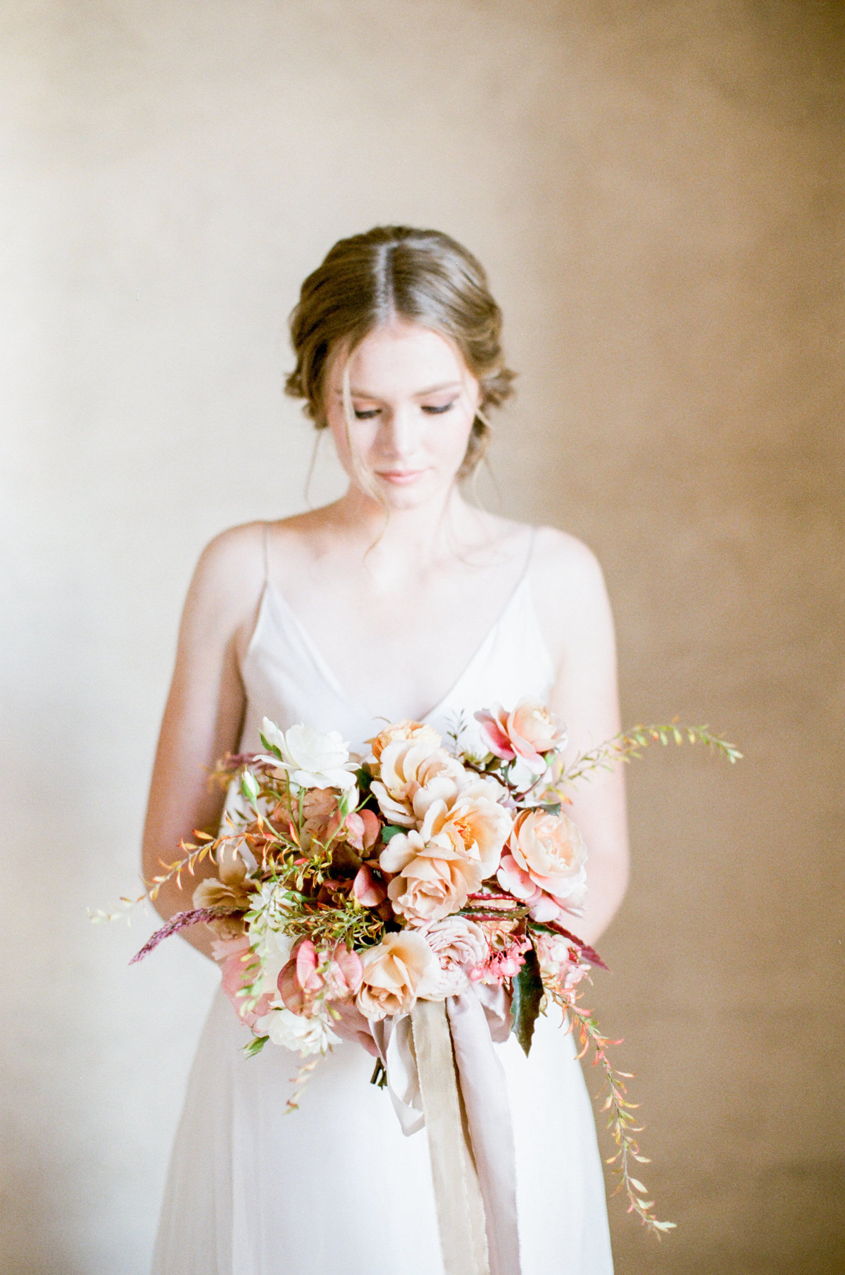 Peach Blush Bridal Bouquet