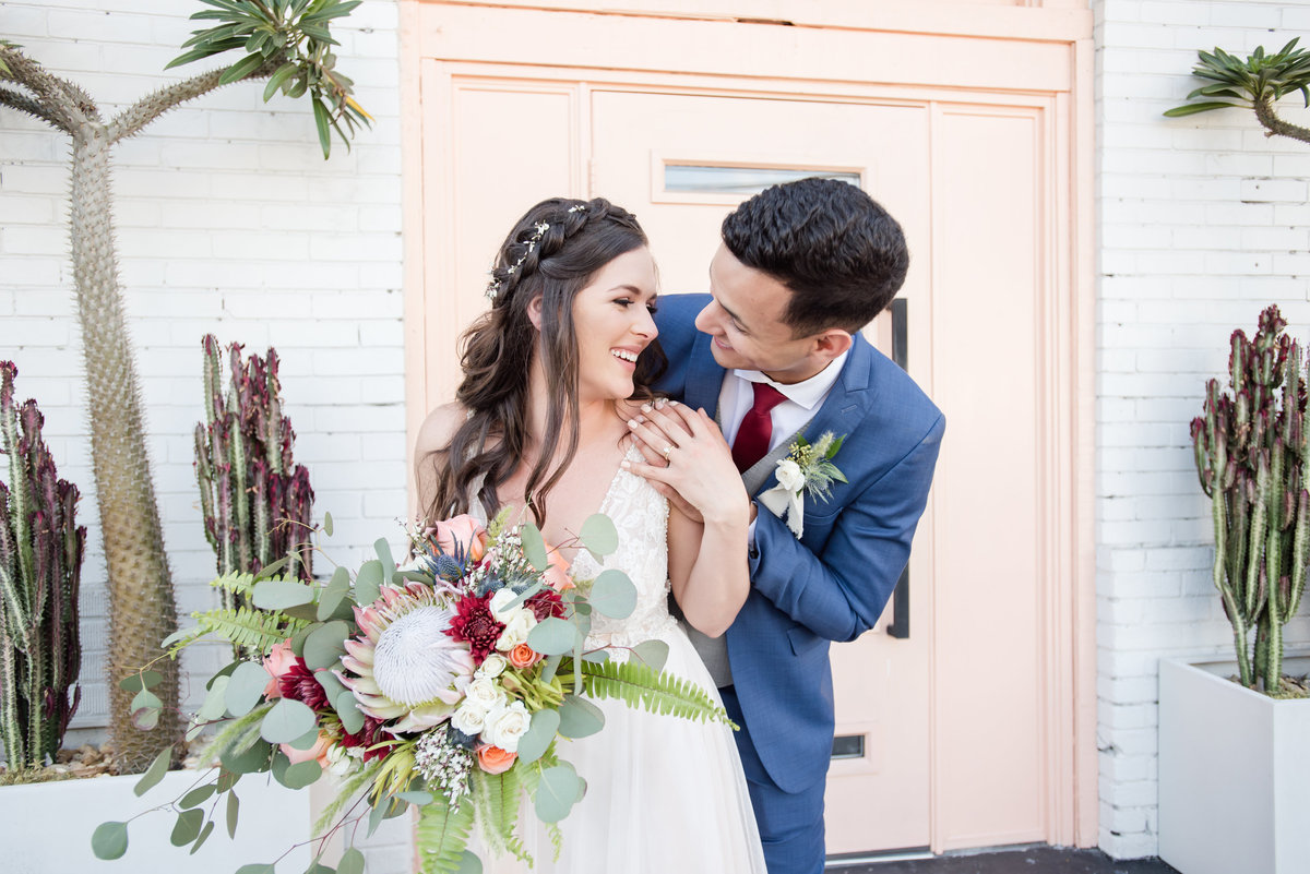 Tampa boho wedding at Fancy Free Nursery 50