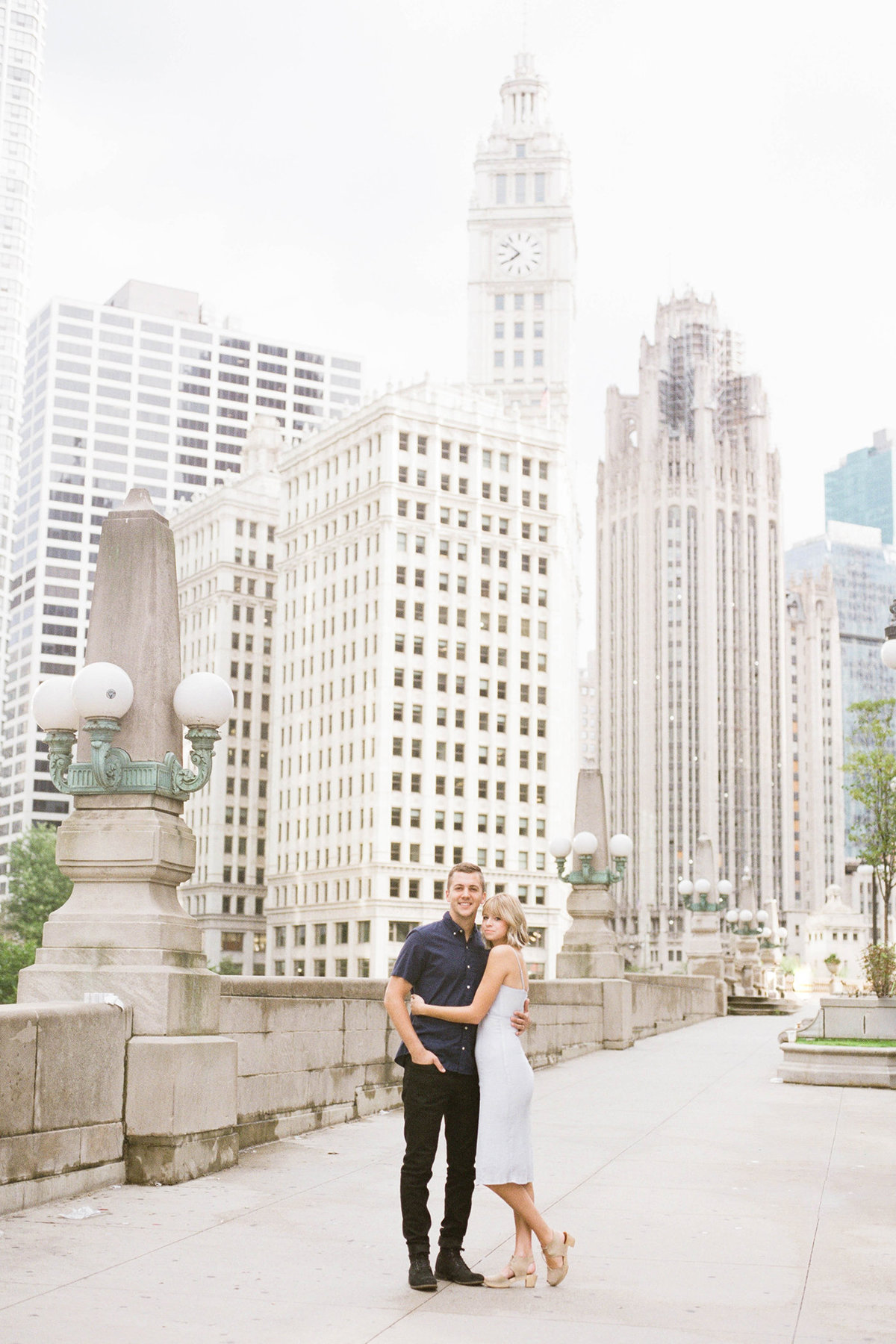 Chicago Wedding Photographer - Fine Art Film Photographer - Sarah Sunstrom - Sam + Morgan - Engagement Session - 1