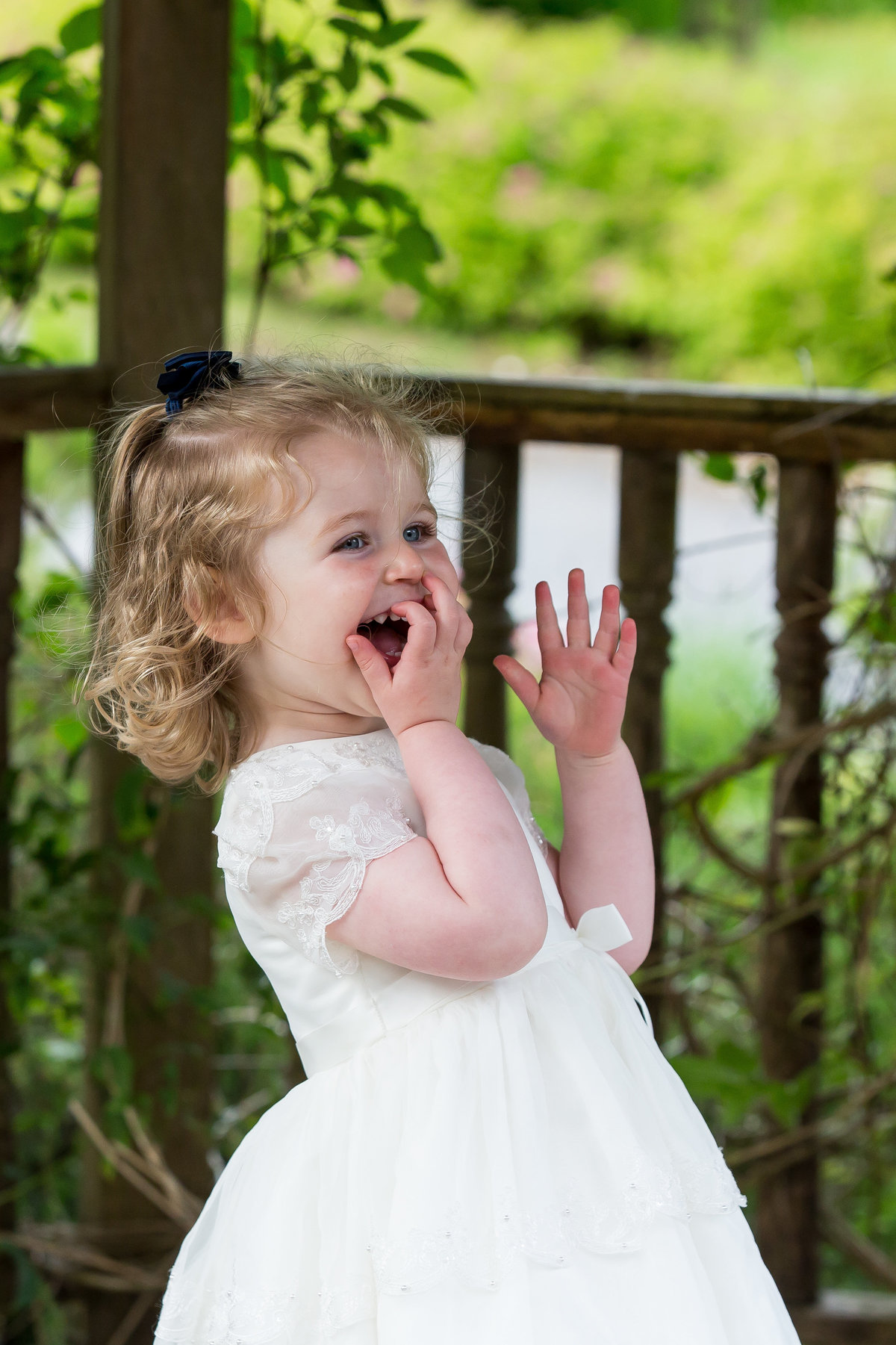 flower girl at the edgemoor hotel bride magazine