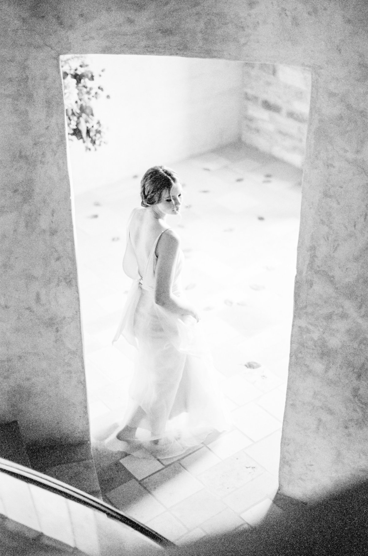 Black and White Film Wedding
