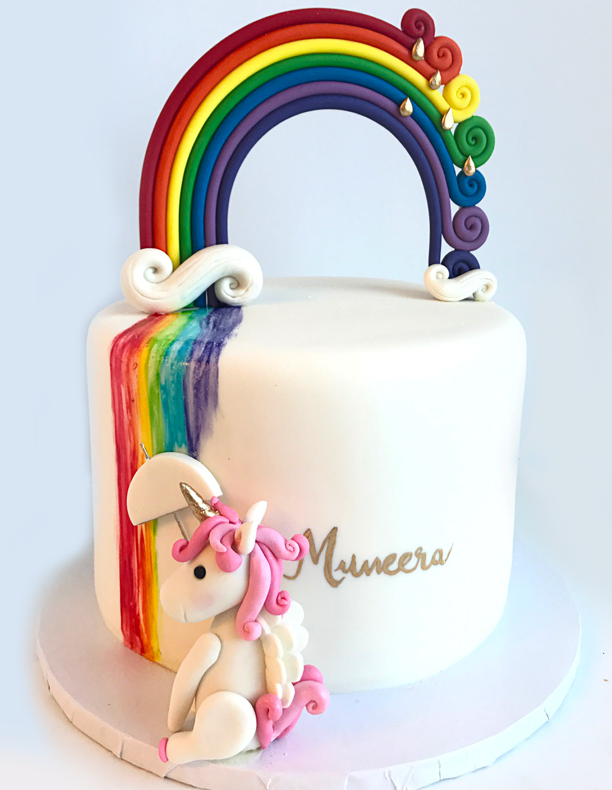 Whippt Unicorn Rainbow cake1