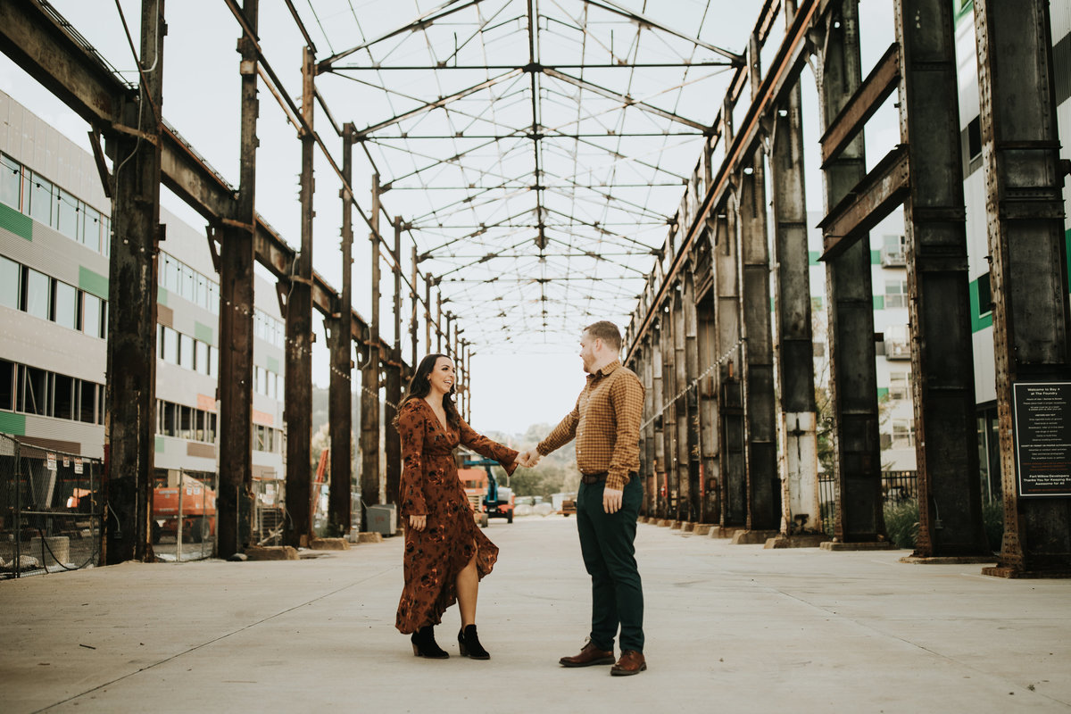 Fun Engagement photos by Oakwood Photo and Video