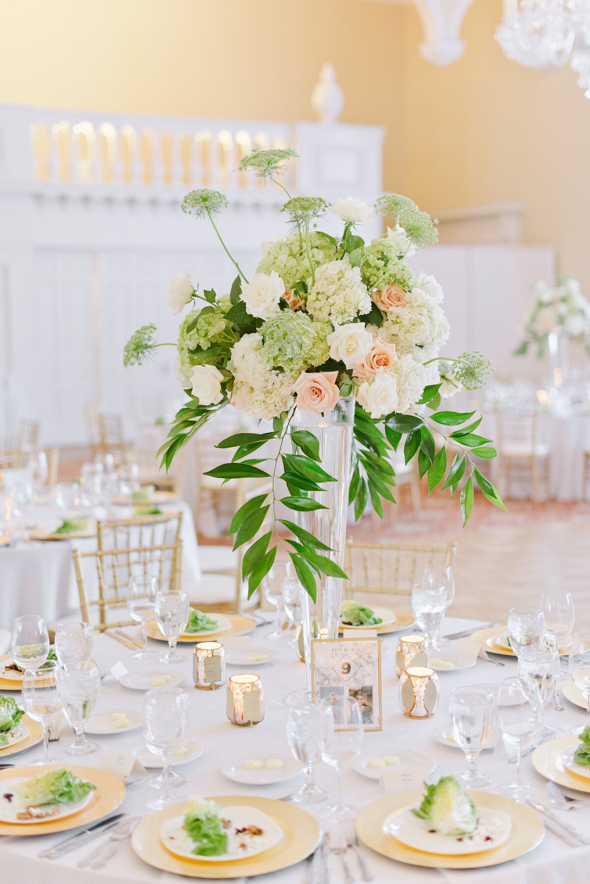 Indoor Wedding  Reception  - Reception Decor
