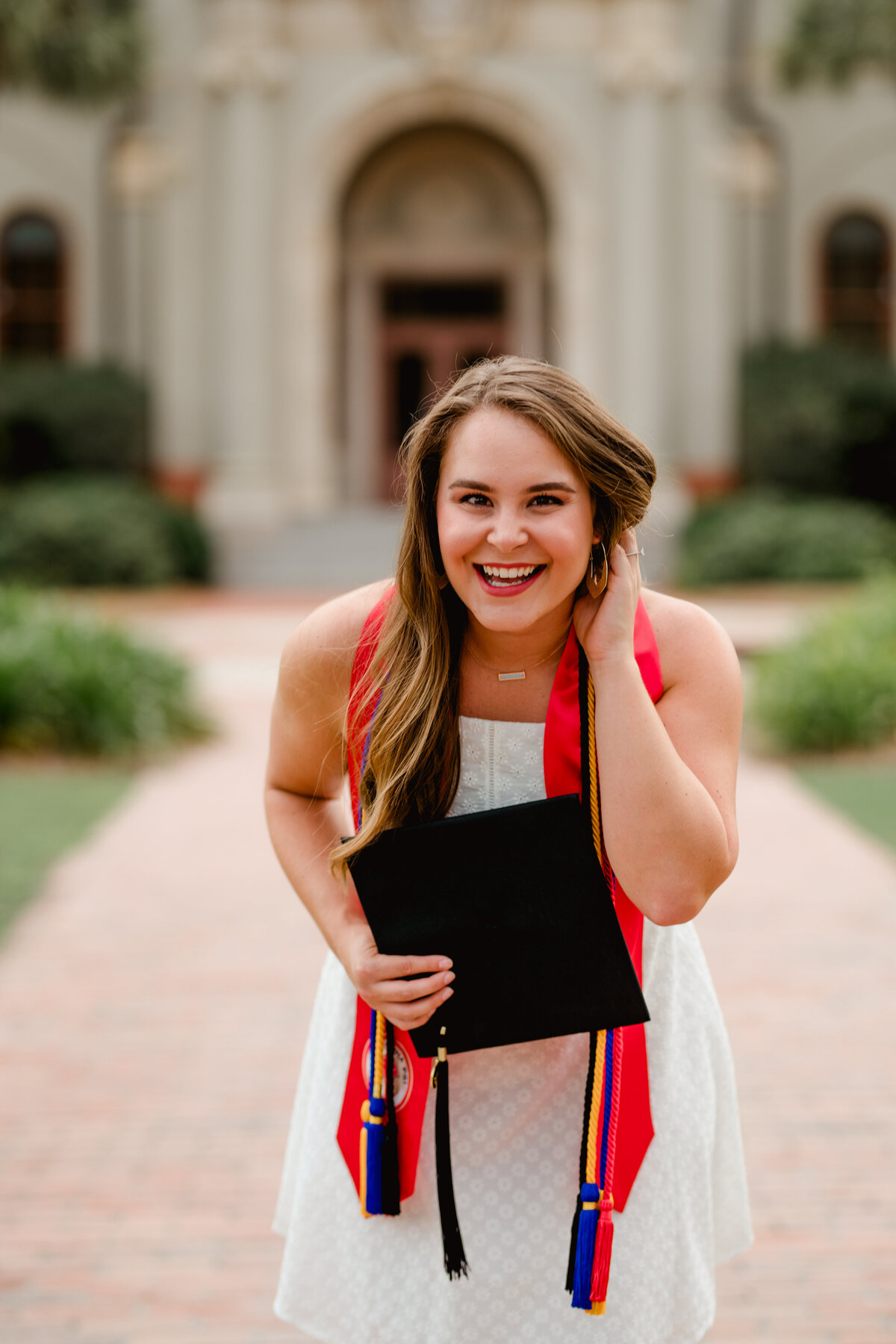 Valdosta State University cute grad photo ideas in Georgia