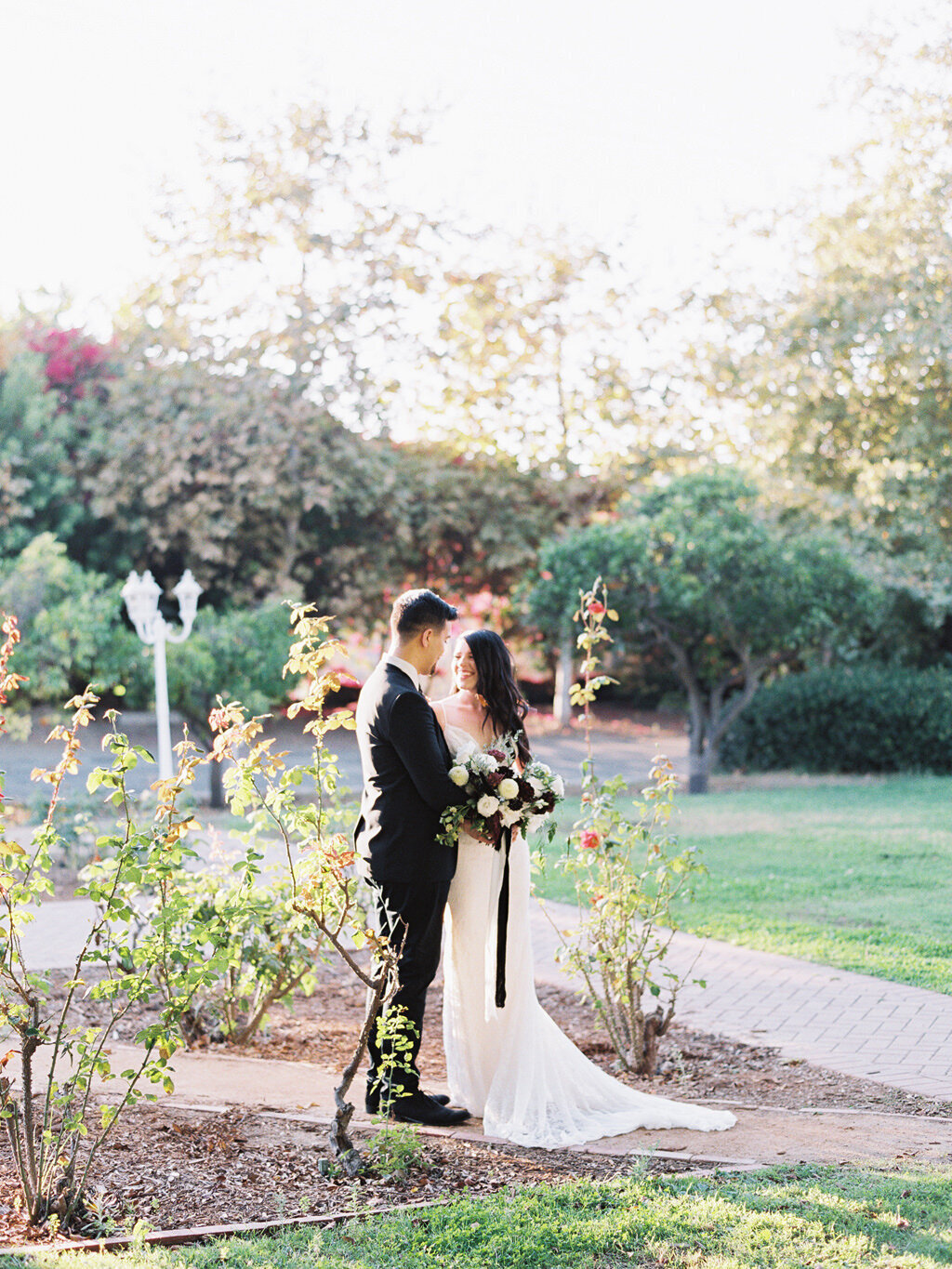 Heritage Museum of Orange County Fall Black and White Wedding Ball Photo Co California Fine Art Film Wedding Elopement Photographer-19