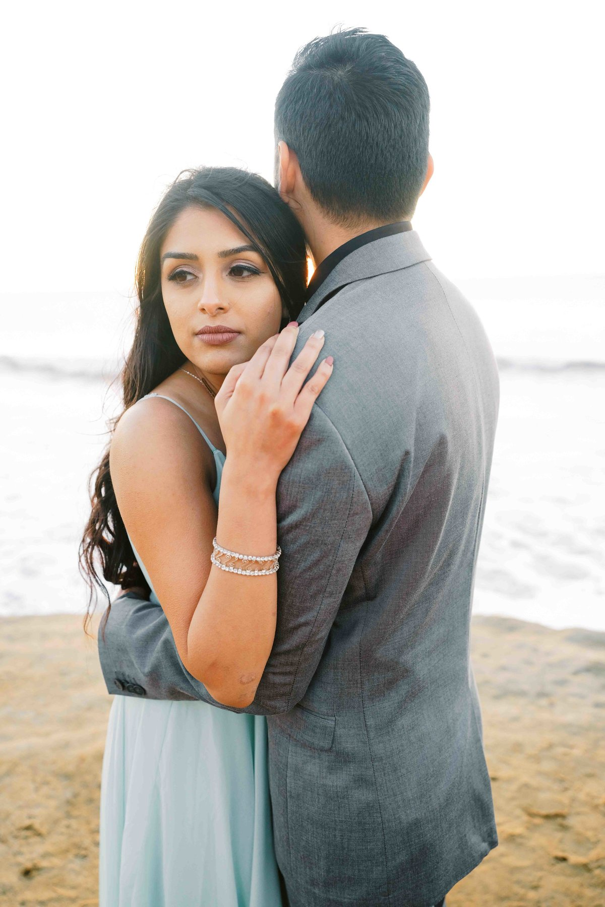 Babsie-Ly-Photography-San-Diego-Proposal-Engagement-Sunset-Cliffs-Indian-Couple-Dog-Surprise-004