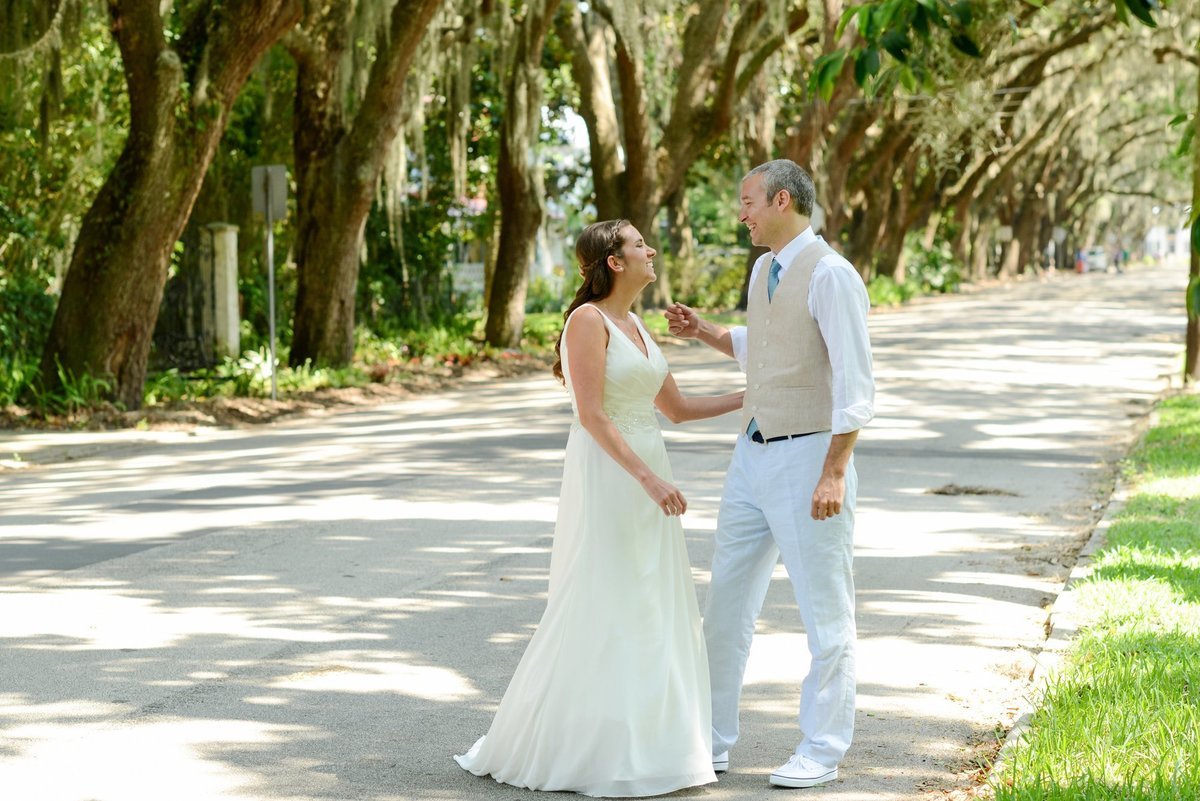 St Augustine Serenata Beach Club Wedding Photographer