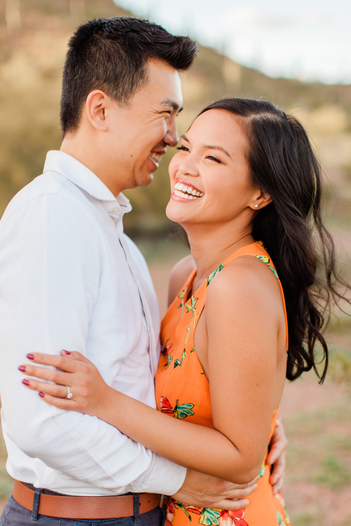 Tempe Papago Park Engagement Session-3553