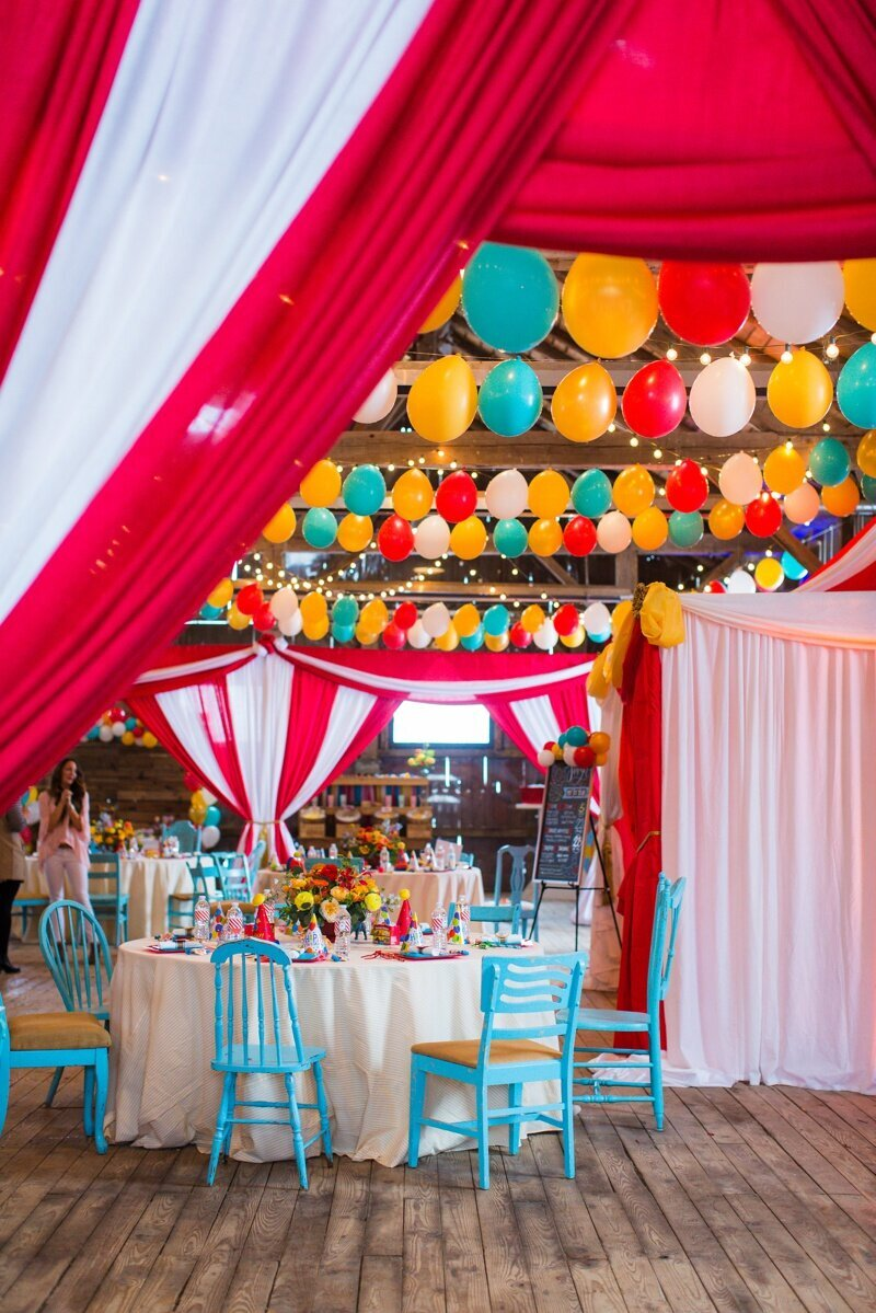 Circus Themed 1st Birthday Indianapolis Party Planner_0091