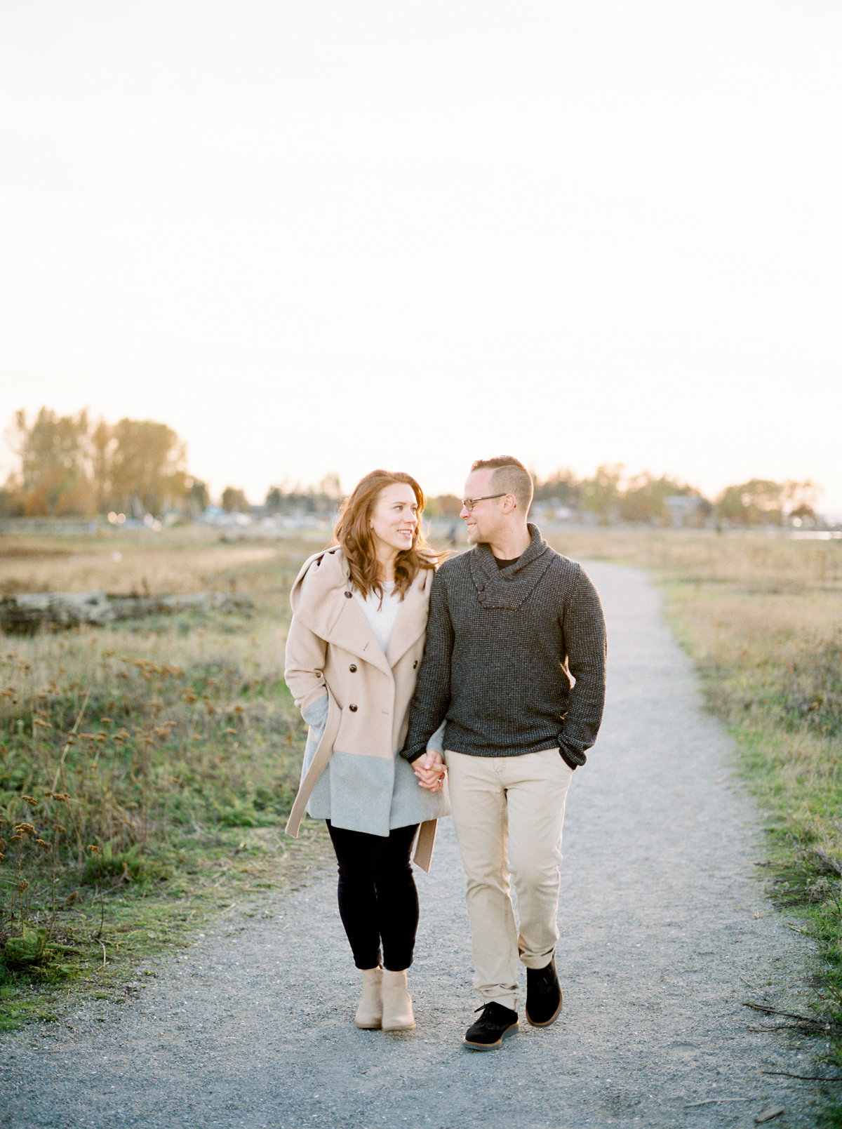 crescent beach engagement