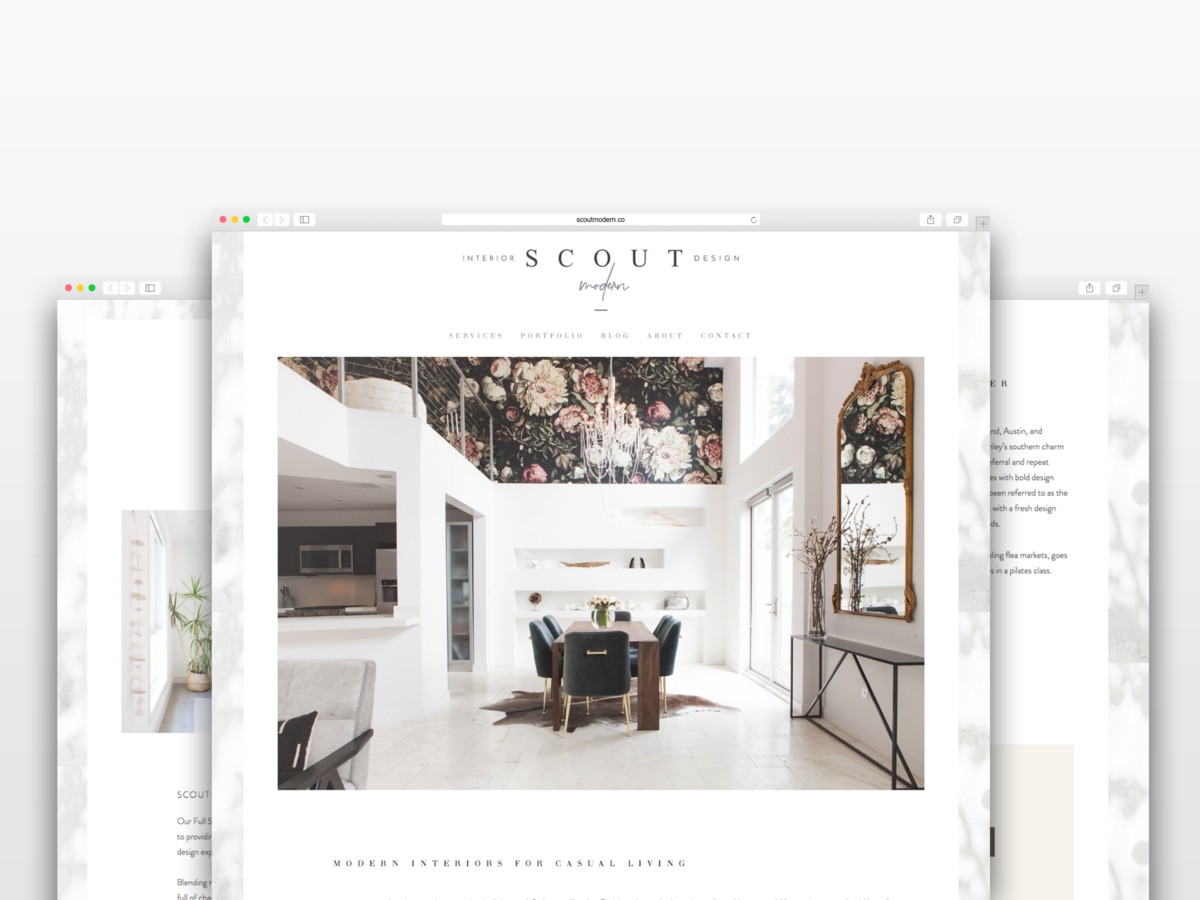 The Identite Collective crafts custom websites for interior designers and boutique lifestyle brands