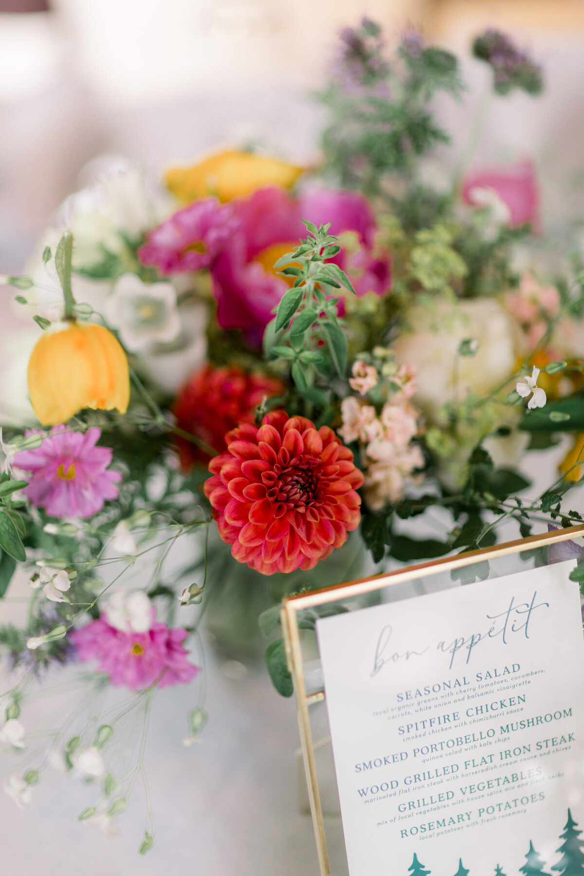 Rachel Buckley Weddings Colorful Wedding