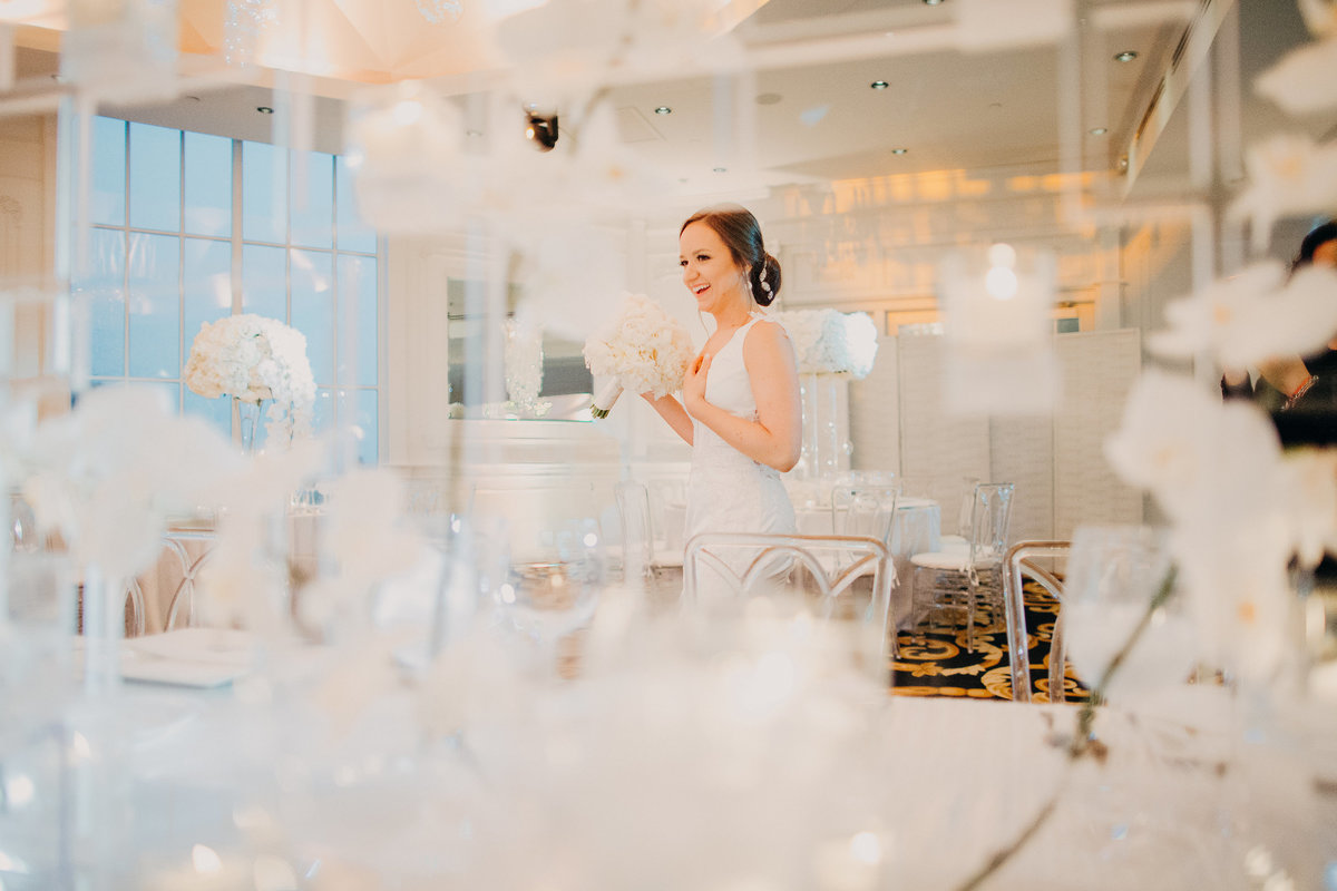 Westmount Country Club white modern New Jersey wedding 33