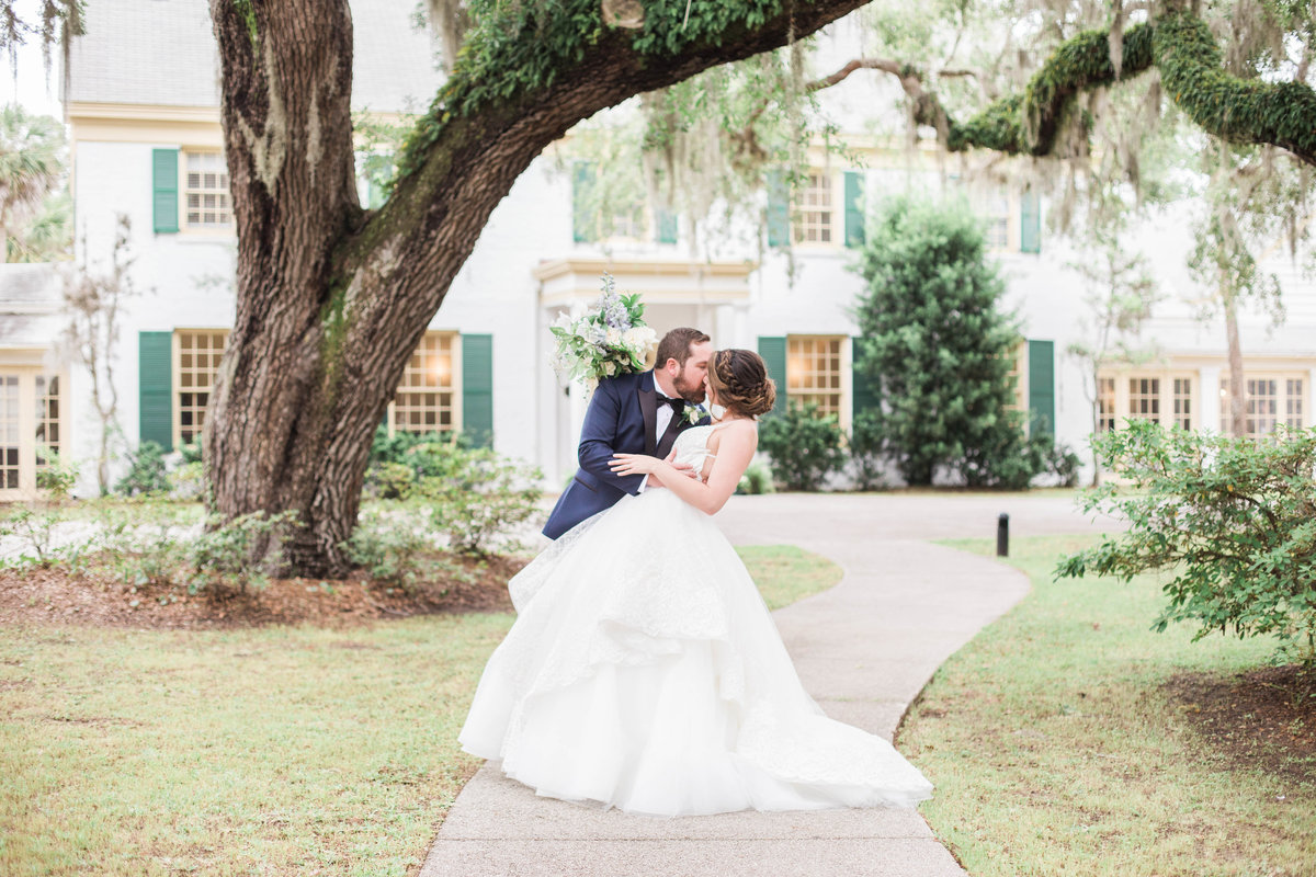 Jacksonville Wedding at the Ribault Club