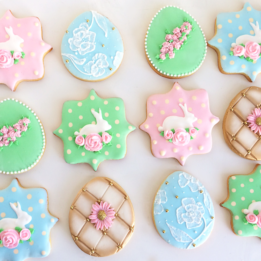 Easter Sugar Cookies for Adorn Pop Up