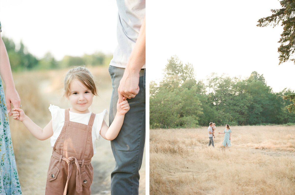 Fort Steilacoom Park Family Session - Film Family Photography - Seattle - Fine Art - Light and Airy - Family photos - 4