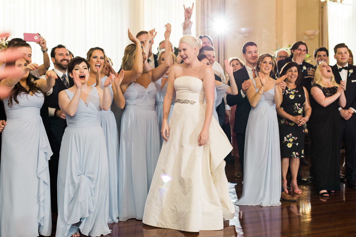 The crowds at the Atlanta History Center couldn't get enough of this mother  son surprise dance. Photo by luxury destination wedding photographer Rebecca Cerasani.