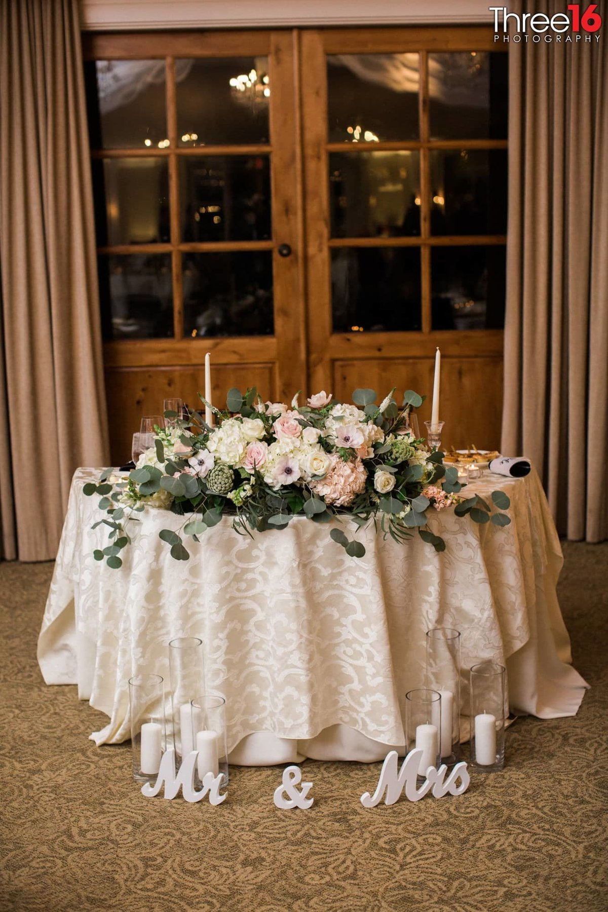 Bridal Table at the Reception