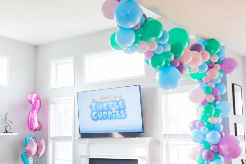 Bubble Guppies Theme Birthday Indianapolis Party Planner_0008
