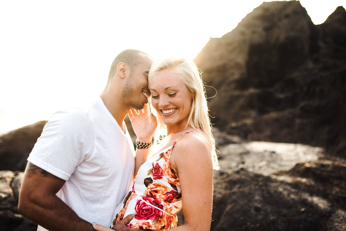 Eternity Beach Honolulu Hawaii Destination Engagement Session - 10