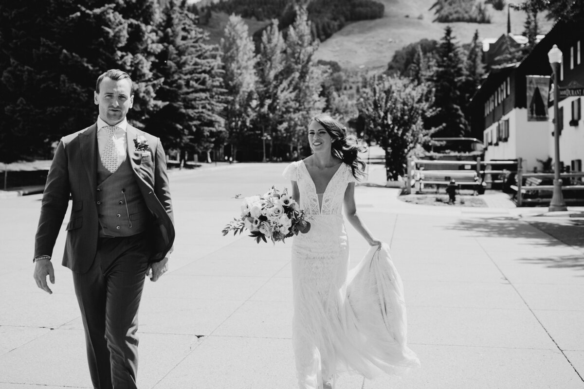 gps-bw-walking-into-downtown-aspen-bride-groom