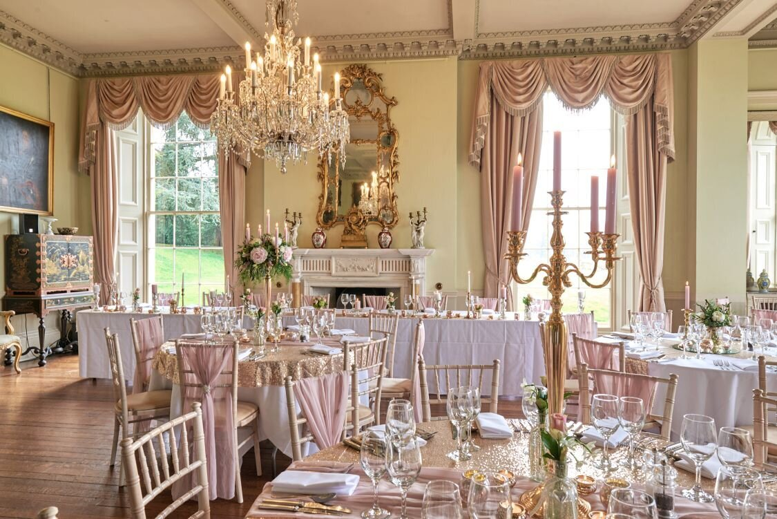 Dusky pink and gold wedding Prestwold Hall sm (10)