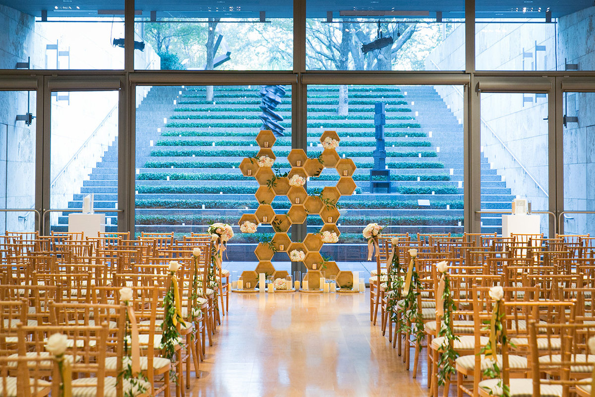 Wedding Planners in Dallas - A Stylish Soiree - Nasher Sculpture Garden - 00292